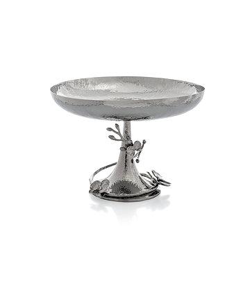 Центральная чаша с ножками из белой орхидеи MICHAEL ARAM