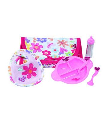 Набор для кормления куклы, 6 предметов Adora