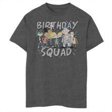 Футболка для мальчиков 8-20 Nickelodeon Hey Arnold Squad Group Shot с графическим рисунком Nickelodeon