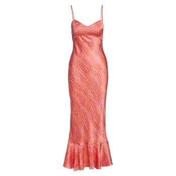 Шелковое платье-комбинация Mimi SALONI