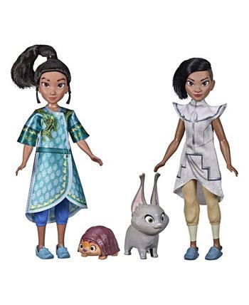 Набор игрушек Raya Rai Young Raya и Namaari Disney Princess