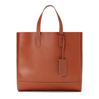 Calfskin Tote Bag  Size Ralph Lauren