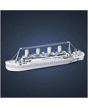 Металл Земля 3D Металл Модель Kit - Титаник Fascinations