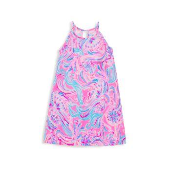 Little Girl's & Girl's Mini Alek Cotton Dress Lilly Pulitzer Kids