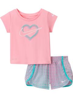 Комплект из двух частей футболки с рисунком и шорт Sprinter (для младенцев) Nike Kids
