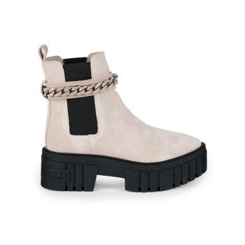 Ботинки челси на платформе с цепочкой Riza Karl Lagerfeld Paris