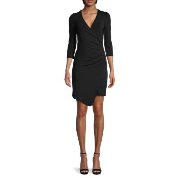 Yuliana Ruched Bodycon Dress Bailey 44