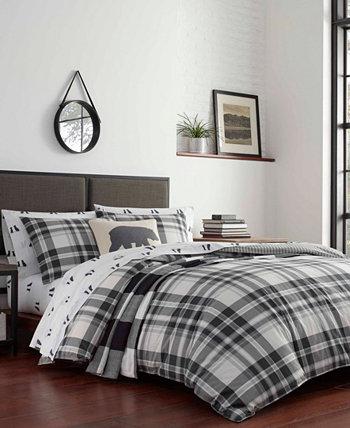 Комплект одеял в клетку Coal Creek, полный / Queen Eddie Bauer