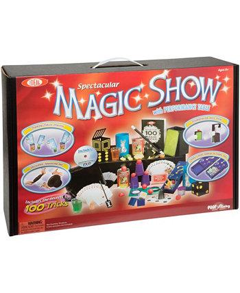 100-трюковый эффектный волшебный шоу чемодан Ideal