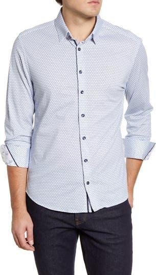 Трикотажная рубашка на пуговицах Stone Rose