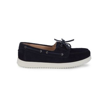Genova Suede Slip-On Loafers Geox