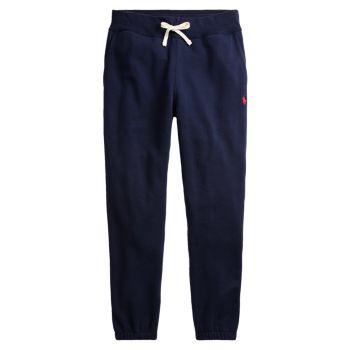 Спортивные брюки из хлопкового флиса Polo Ralph Lauren