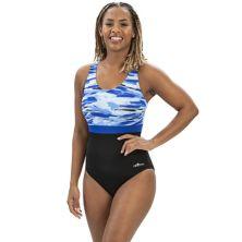 Women's Dolfin Aquashape Colorblock Bust-Enhancer One-Piece Swimsuit Dolfin