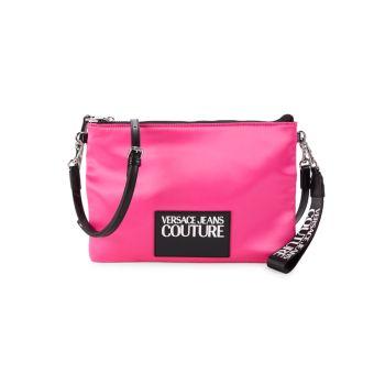 Сумка через плечо с логотипом Versace Jeans Couture