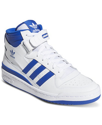 Men's Forum Mid Casual Sneakers from Finish Line Adidas