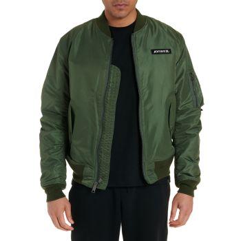 Куртка-бомбер из нейлона Big Avirex
