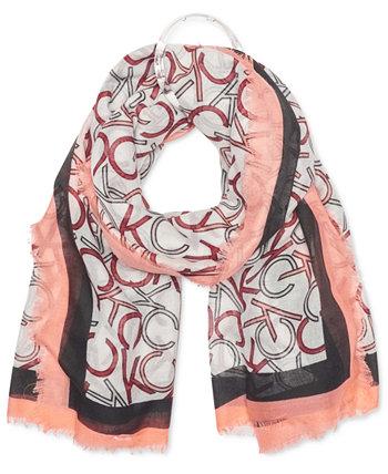 Квадратный шарф оверсайз Calvin Klein