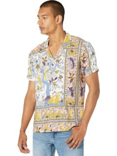 Рубашка с коротким рукавом с принтом животных бордюров NATIVE YOUTH