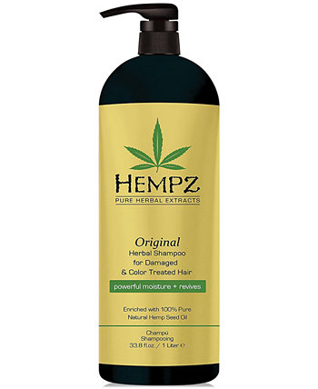 Оригинальный травяной шампунь, 33 унции, от PUREBEAUTY Salon & Spa Hempz