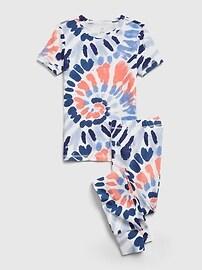 Kids 100% Organic Cotton Tie-Dye PJ Set Gap