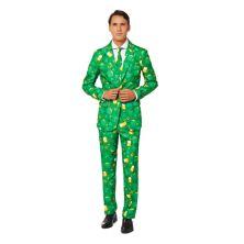 Мужской костюм-новинка на день Св. Патрика с галстуком Suitmeister Suitmeister