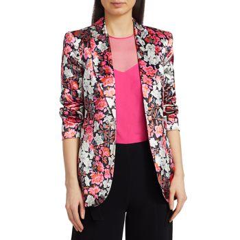 Куртка с принтом Kylie Carnation Cinq a Sept