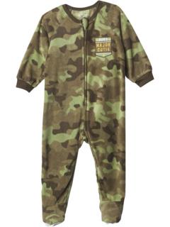 Camo Fleece One-Piece Pajamas (Infant) The Children's Place