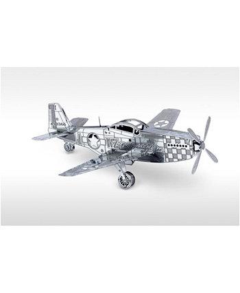 Металлическая Земля 3D Металлическая Модель Kit - P-51 Мустанг Fascinations