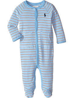 Полосатая хлопчатобумажная кофта (младенец) Ralph Lauren