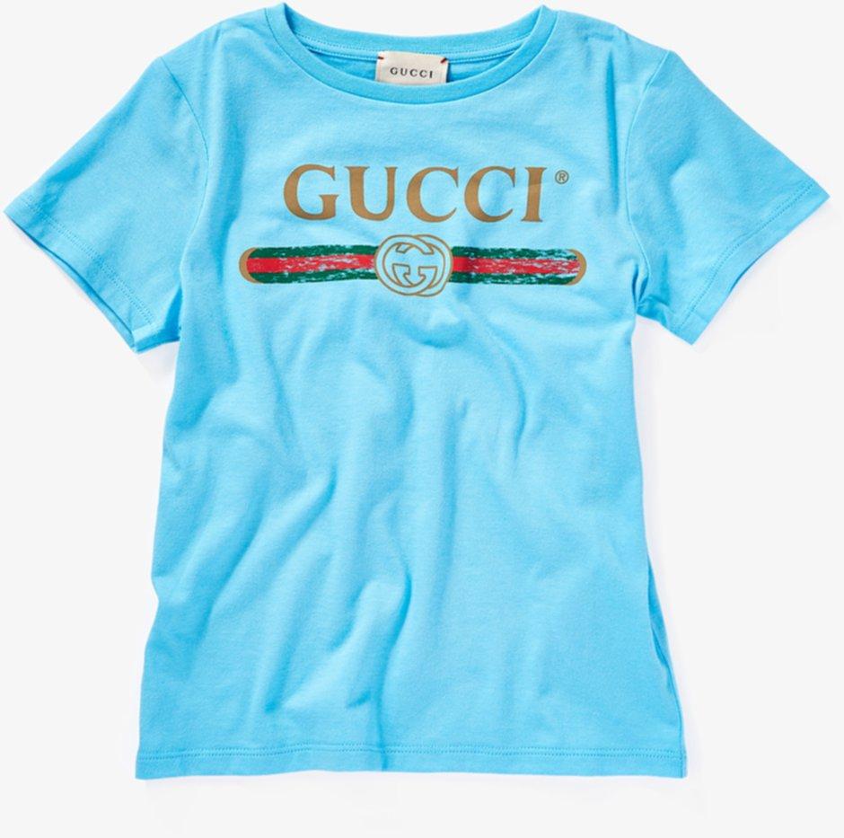 Футболка с принтом через Интернет (Маленькие дети / Большие дети) Gucci Kids