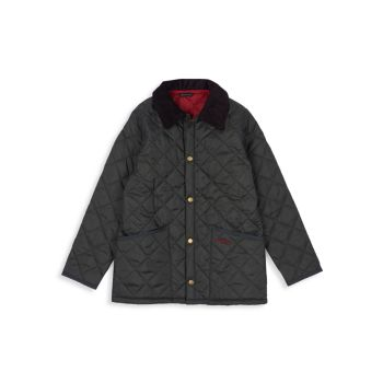 Little Boy's & amp; Стеганая куртка для мальчиков Liddesdale Barbour