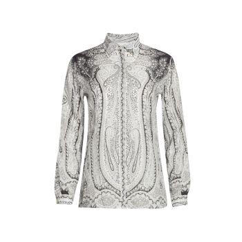 Блуза Mini Camicia с рисунком пейсли Etro