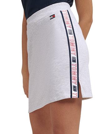 Мини-юбка с логотипом Tommy Hilfiger