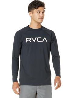 Футболка с длинными рукавами из микро-сетки RVCA