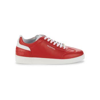 Кожаные кроссовки Ronald Valentino By Mario Valentino