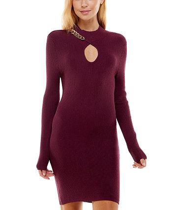 Платье-свитер с вырезом и цепочкой для юниоров Ultra Flirt