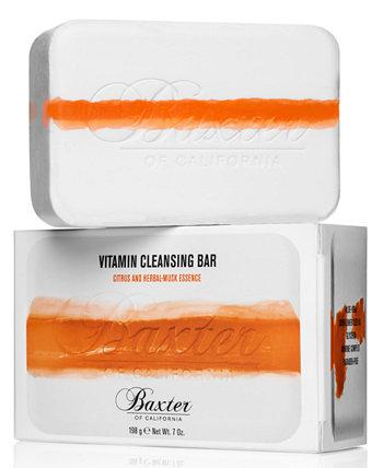 Vitamin Cleansing Bar - Цитрусовая и мускусная эссенция, 7 унций BAXTER OF CALIFORNIA