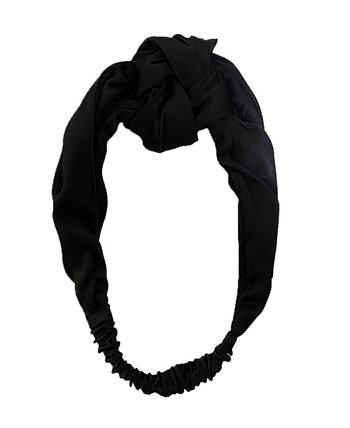 Женская шелковая повязка на голову NIGHT