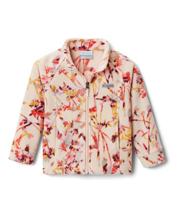 Флисовая куртка с принтом Benton Springs II для маленьких и больших девочек Columbia