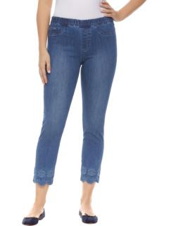 Эффектная притягивающая тонкая щиколотка цвета индиго FDJ French Dressing Jeans