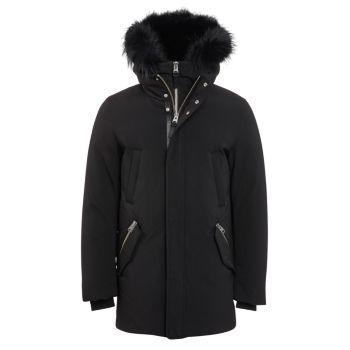 Edward Nordic Tech Fox Fur-Trim & amp; Пуховое пальто с меховой подкладкой из кролика Mackage