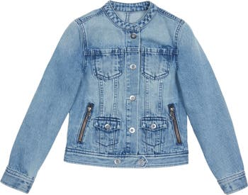 Blakely Button-Up Denim Jacket HABITUAL girl