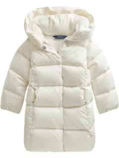 Стеганое длинное пальто с водоотталкивающим покрытием (для маленьких детей) Ralph Lauren