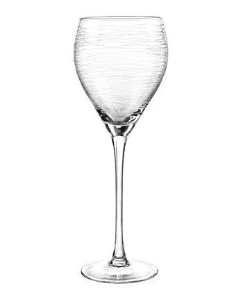 Бокалы для вина с граффити, 4 шт. Qualia Glass