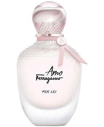 Salvatore Amo Ferragamo Per Lei Eau de Parfum Spray, 3,4 унции. Ferragamo