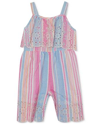 Комбинезон с вышивкой для маленьких девочек Rare Editions