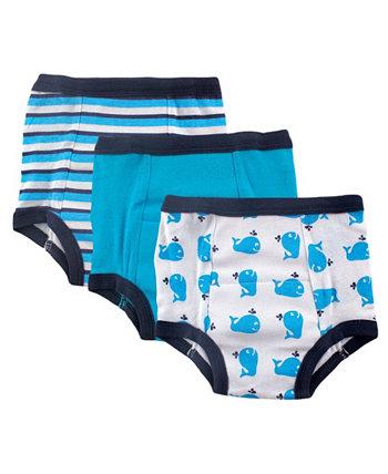 Водонепроницаемые тренировочные брюки для маленьких девочек и мальчиков, 3 шт. В упаковке Luvable Friends