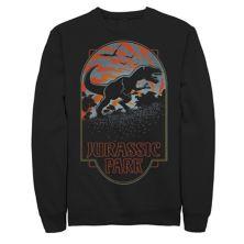 """Мужская толстовка с принтом """"Парк Юрского периода"""" T Rex Silhouette Tonal Sunset Jurassic Park"""