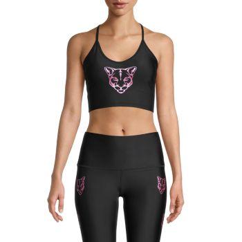Спортивный бюстгальтер Panther Electric Yoga