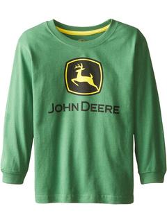 Long Sleeve Trademark Tee Green Child John Deere